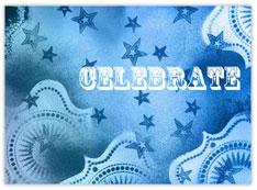 True Blue Celebrate