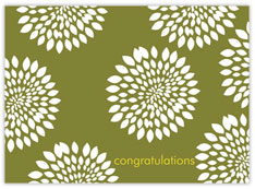Funky Floral Congratulations