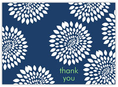 Funky Floral Thank You