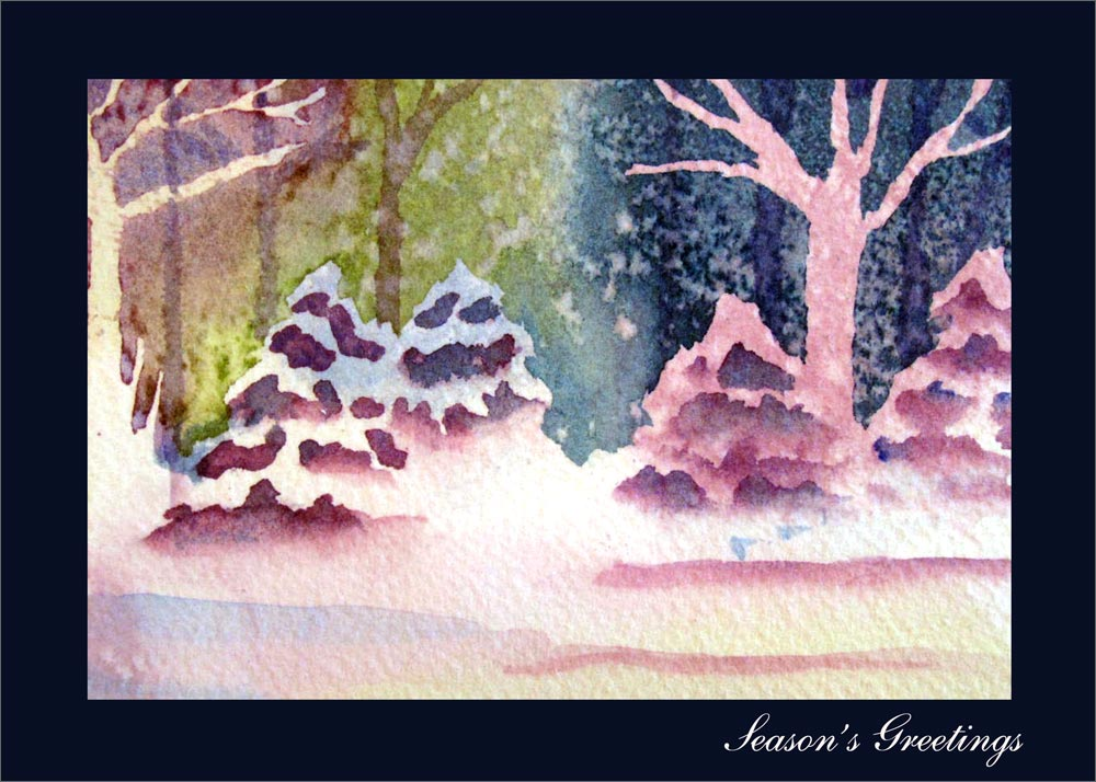 Christmas cards christmas greeting cards fast delivery Christmas card scenes to paint