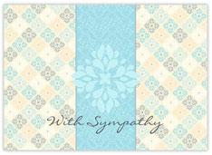 Sympathy Blue Flower