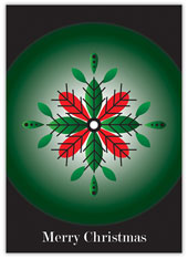 Red Snowflake Ornament