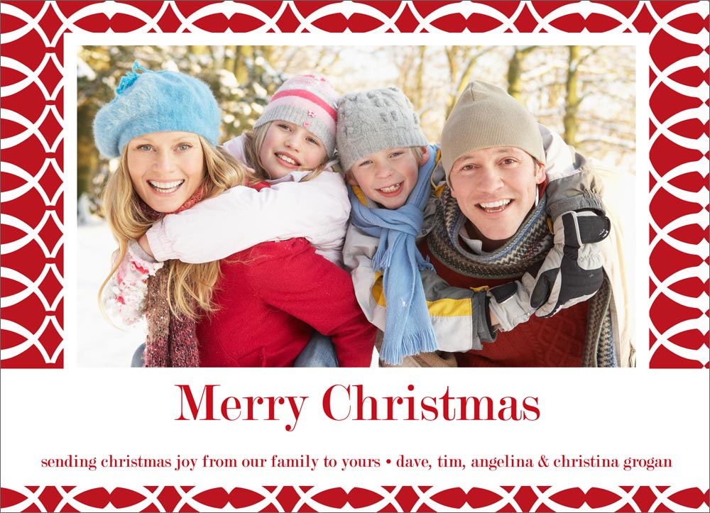 christmas cards photo mount