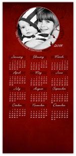 Circular Photo Calendar