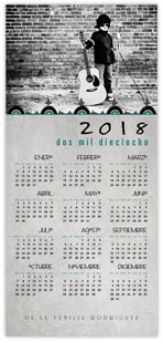Medallion Spanish Calendar