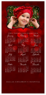 Scarlet Photo Calendar