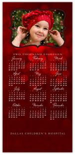 Scarlet Photo Calendar