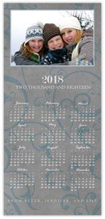 Scrolls Photo Calendar