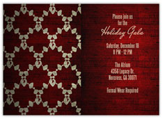 Red Formal Invite