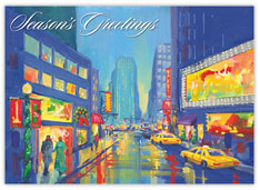 City Reflections Holiday Card