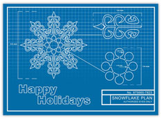 Perfect Snowflake Blueprint