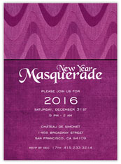 New Year Masquerade