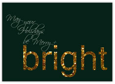 Merry and Bright Glitter