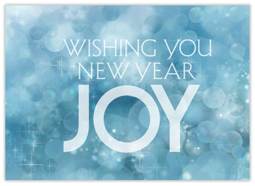 Sparkle New Year Joy - New Year from CardsDirect