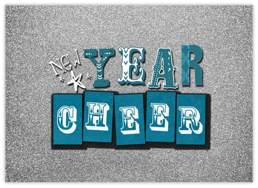 New Year Cheer - New Year from CardsDirect