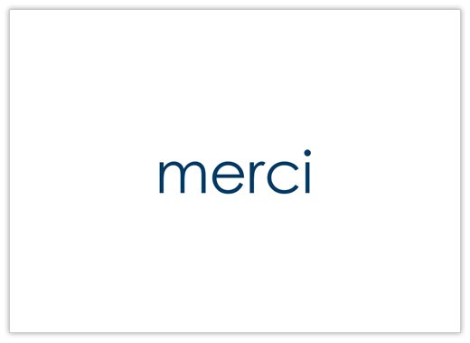Merci - Thank You Cards from CardsDirect