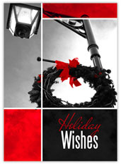 Holiday Wishes Wreath