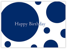 Blue Circles Birthday
