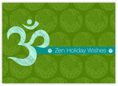 Zen Holiday Wishes