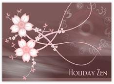 Pink Floral Zen