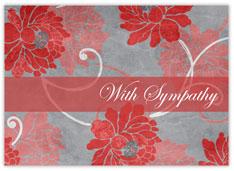 Red Flower Sympathy