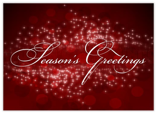 Season's Greetings Sensation - Season Greetings from CardsDirect