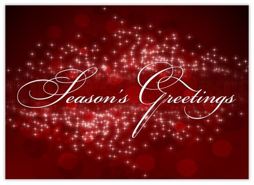 Season's Greetings Sensation - Season Greetings from CardsDirect