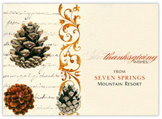 Pinecones of Thanks