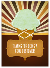 Ice Cream Customer Appreciation