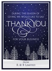 Winter Season Thank You