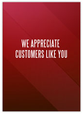 Red Customer Appreciation