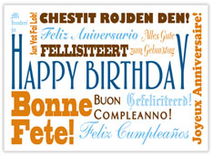 Modern Languages Birthday