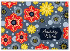 Summer Flowers Birthday