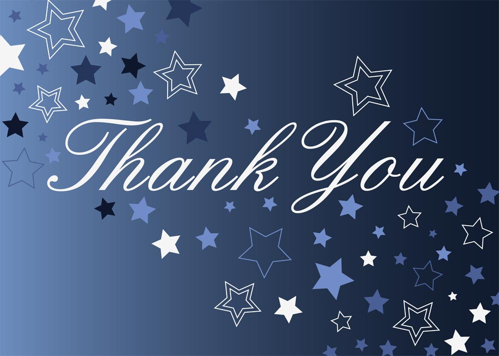 Thank Your Lucky Stars - Thank You Cards from CardsDirect