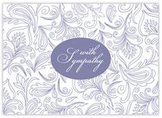 Elegant Purple Sympathy