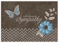 Vintage Sympathy Butterfly