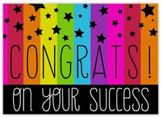 Congrats Stars