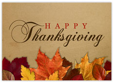Rustic Thanksgiving Leaves