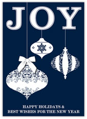 Blue Joy Hanging Ornaments