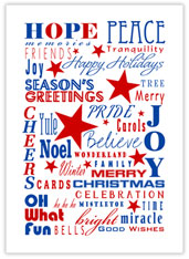 Patriotic Holiday Words