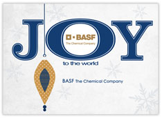 Joy Ornament Logo