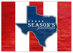 Patriotic Texas Greetings