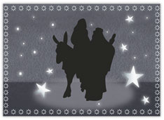 Holy Family Silhouette