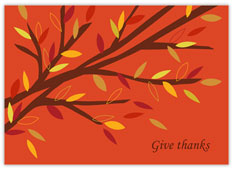 Give Thanks Tree Branch