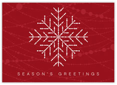 Beaded Strands Snowflake