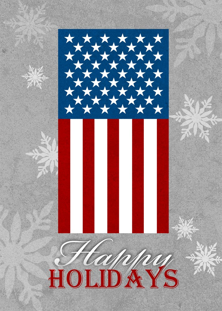 Holiday Patriotic Flag - Patriotic from CardsDirect