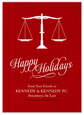 Holiday Attorney Scales