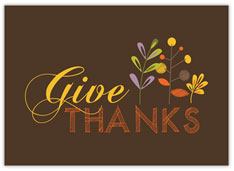 Simple Give Thanks