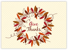 Wreath of Thanks