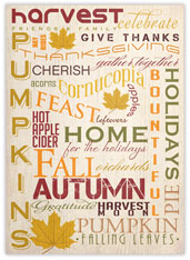 Many Words of Thanksgiving